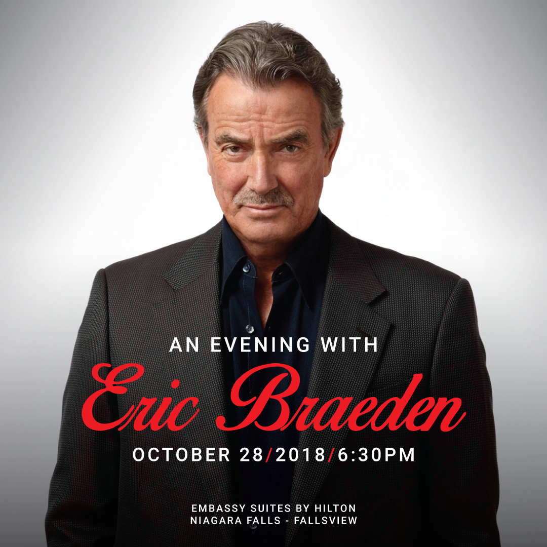 An Evening With Eric Braeden - The Keg Steakhouse + Bar