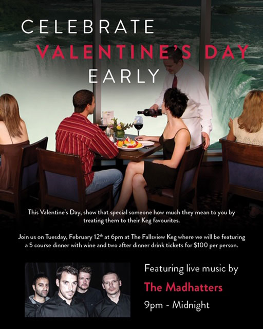 Fallsview Date Night- The Keg Steakhouse + Bar