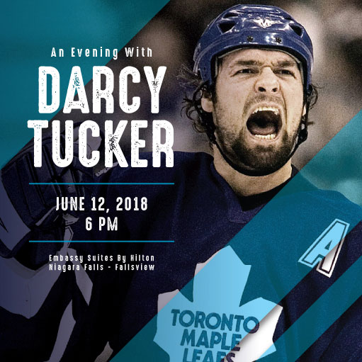 An Evening with Darcy Tucker - The Keg Steakhouse + Bar