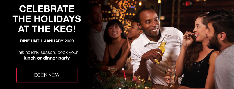 Holiday Parties - The Keg Steakhouse + Bar